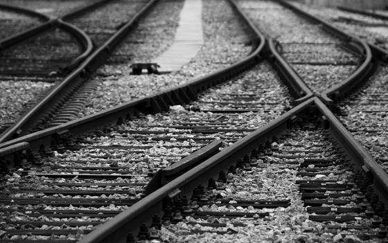 Trilhos da Linha do Douro em Pinhão. São 200 km de estrada de ferro entre Porto e Barca d´Alva