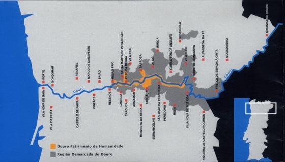 A área declarada patrimônio mundial pela Unesco em 2001 corresponde a uma pequena parcela da região demarcada