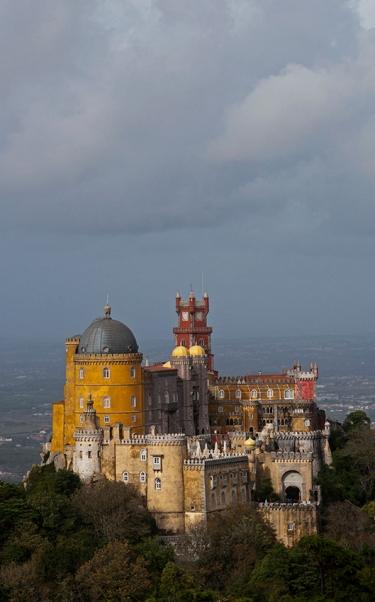 Palácio Nacional da Pena, a atração mais concorrida de Sintra