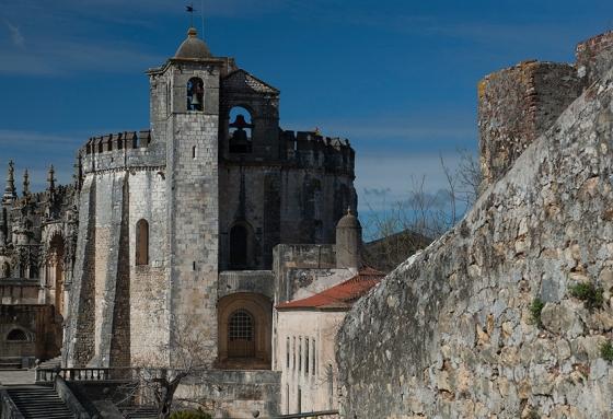 Visitar o Convento de Cristo durante a semana e na baixa estação é tê-lo praticamente só para você