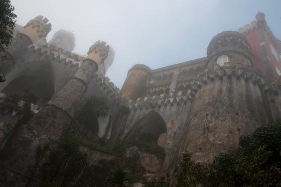 Palácio da Pena, em Sintra: convento transformado num castelo de fantasia à maneira medieval
