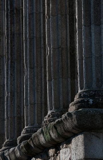 Acredita-se que templo romano de Évora seja do século 1