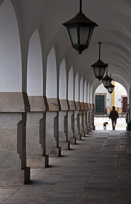 Centro histórico de Évora, declarado patrimônio mundial em 1986
