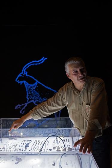 Baptista, diretor do museu: especialistas em arte paleolítica