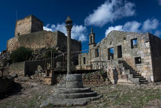Marialva, 58 quilômetros a oeste de Castelo Rodrigo