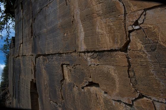 Rocha 13 do sítio arqueológico da Ribeira de Piscos: verdadeiro outdoor paleolítico