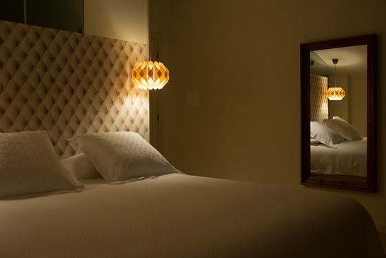 No quarto Amieiro, a diária varia de 90 a 110 euros