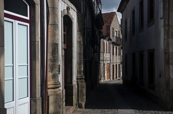 O centro histórico da vila: testemunhas de muitos acontecimentos marcantes