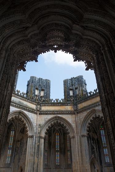O portal das capelas: executado por Mateus Fernandes