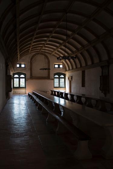 O refeitório: obra do maior arquiteto português do século 16