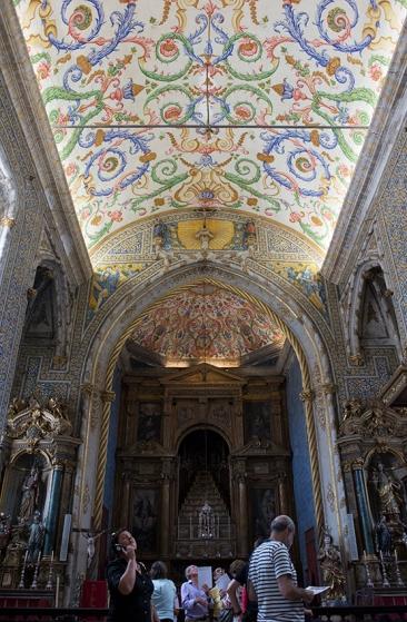 A Capela de São Miguel, na UC: cenário de um dos sermões do padre António Vieira