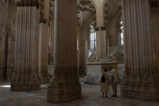 A Capela do Fundador, no Mosteiro da Batalha: glória ao rei D. João I e à rainha D. Filipa