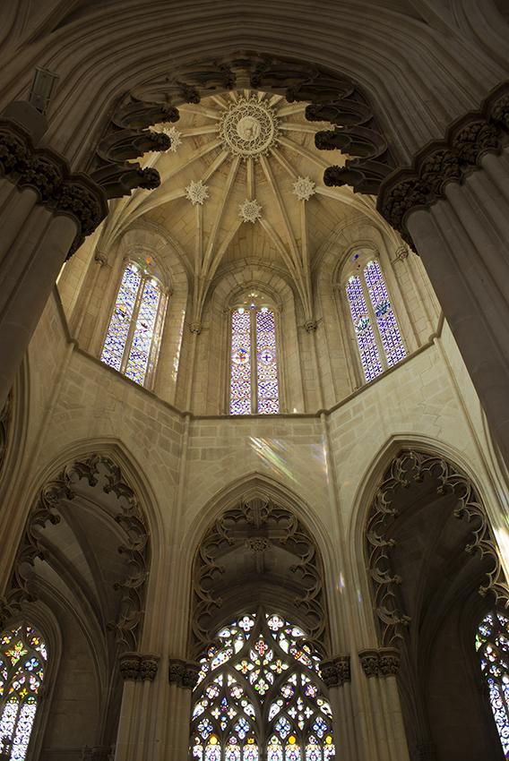 A abóbada estrelada da capela: arquitetura ousada