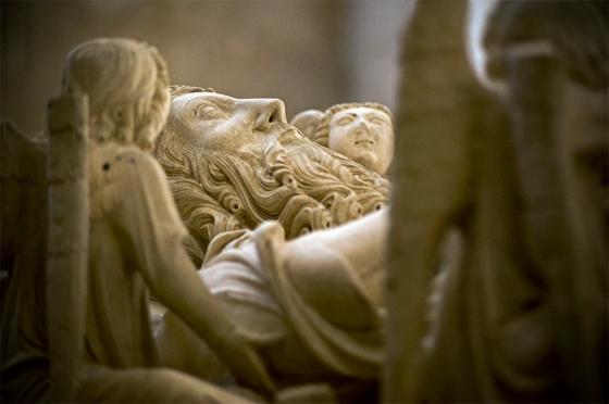 Túmulo de D. Pedro I, Mosteiro de Alcobaça: um dos highlights mais disputados