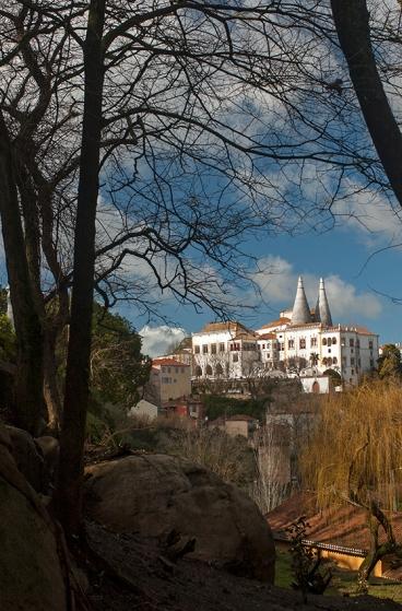 O Palácio Nacional de Sintra: foto clicada da Volta do Duche