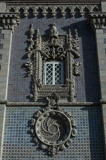 A janela neomanuelina do Palácio da Pena, em Sintra: cópia da Janela do Capítulo em Tomar