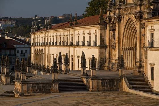 Mosteiro de Alcobaça, o maior do Reino de Portugal e um dos maiores da Ordem de Cister