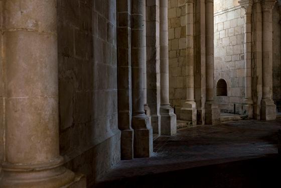 Deambulatório, Mosteiro de Alcobaça