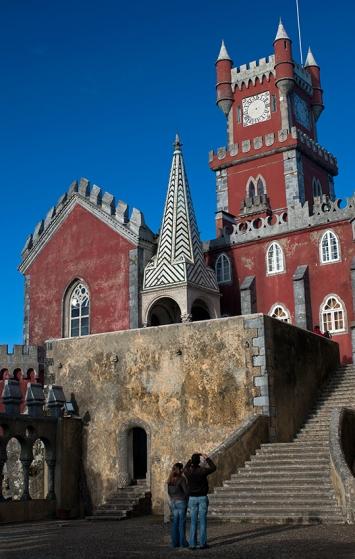 As cores do Palácio da Pena: destino de sonho para crianças