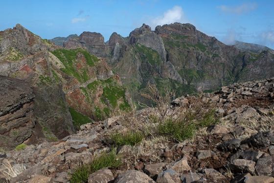 Pico Ruivo, ponto culminante da ilha