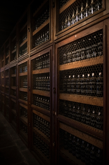 Vintage Room, um dos ambientes do Blandy´s Wine Lodge