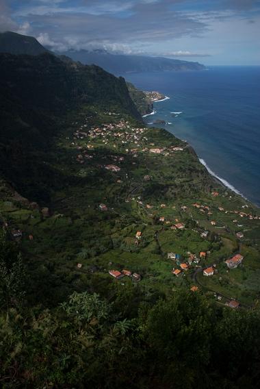 Miradouro do Arco de São Jorge, costa norte da Madeira