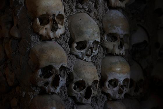 Capela dos Ossos, na Igreja de São Francisco: saí de lá revigorado