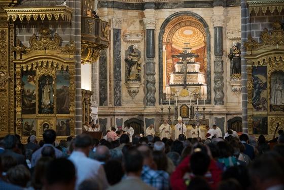 Missa de reabertura da Igreja de São Francisco