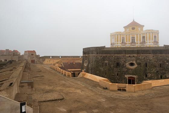 O Forte de Nossa Senhora da Graça, em Elvas, um mês e meio antes de ser reaberto à visitação pública