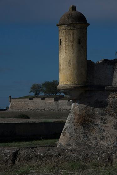 Outro registro da muralha, com céu azul depois de quatro dias cinzentos