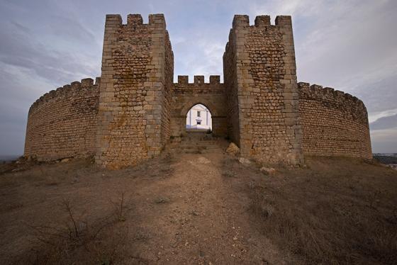 O Castelo de Arraiolos, um dos pouco no mundo construídos com planta circular