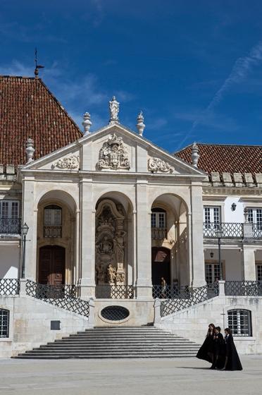 A Universidade de Coimbra, onde estudou Direito o Marquês de Sapucaí
