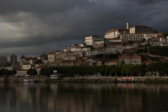 A cidade de Coimbra, capital do reino até 1255