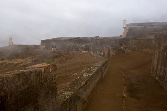O Forte de Nossa Senhora da Graça, em Elvas, fotografado um mês e meio antes de sua reinauguração