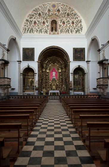 Igreja do Salvador, em Elvas, belo exemplo de arquitetura jesuíta do século 17