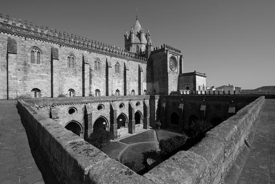 Terraço do claustro, Sé Catedral de Évora