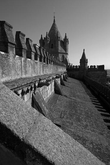 Terraço da torre, Sé Catedral de Évora