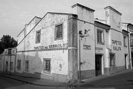 Centro da vila, produtora de tapetes candidatos a patrimônio mundial