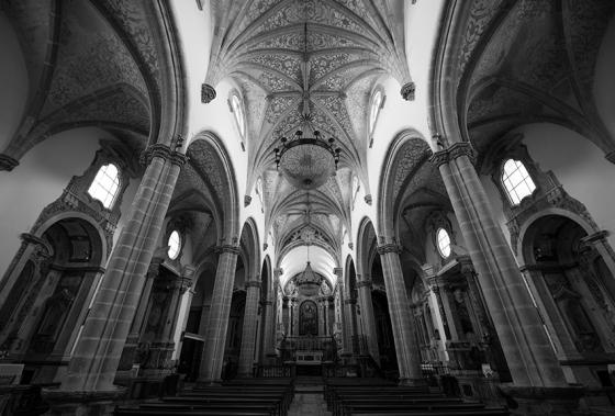 A Igreja de Nossa Senhora da Assunção por dentro