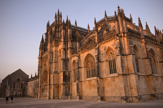 Fachada principal do Mosteiro da Batalha, recentemente classificado como panteão nacional