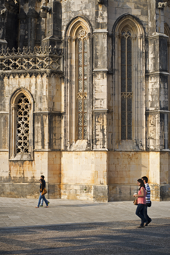 Capelas Imperfeitas vistas pelo lado de fora do mosteiro