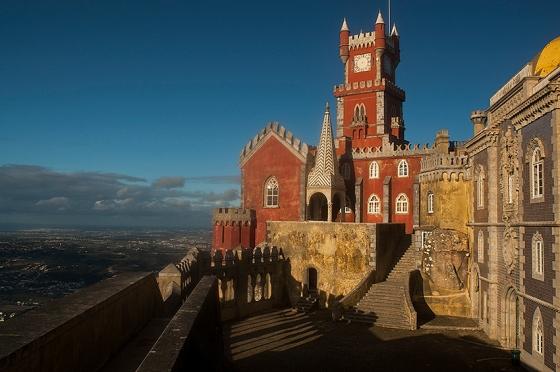 O palácio é fruto da imaginação do rei Fernando II