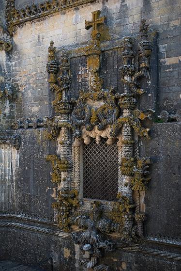 A janela ocidental da nave manuelina