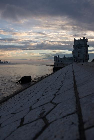 A Torre de Belém, declarada patrimônio mundial há 33 anos