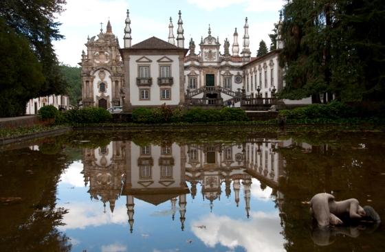 O palácio é considerado um expoente da arquitetura barroca